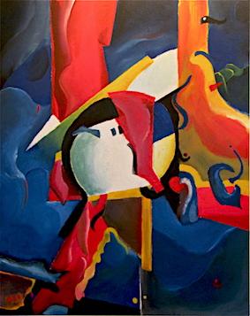 Untitled, Mischtechnik auf Spanplatte, 2012